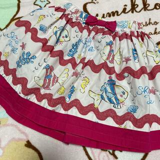 Shirley Temple - おさかなスカート100cm