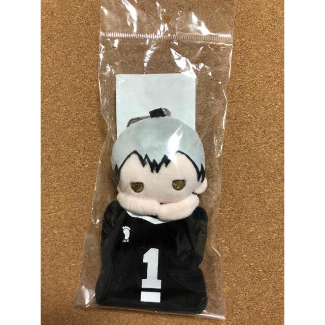 ハイキュー マスコット ミニポーチ 北信介 エンタメ/ホビーのおもちゃ/ぬいぐるみ(キャラクターグッズ)の商品写真