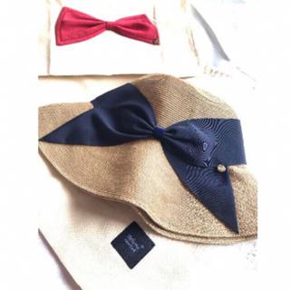 バーニーズニューヨーク(BARNEYS NEW YORK)の新品 アッシーナニューヨーク 麦わら帽子 リサコ(麦わら帽子/ストローハット)