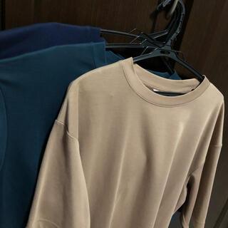 UNIQLO - UNIQLO エアリズムコットンオーバーサイズTシャツ 3色セット 美品