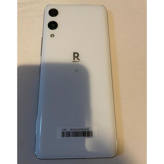 Rakuten(ラクテン)のRakuten Hand ホワイト 楽天ハンド 白  スマホ/家電/カメラのスマートフォン/携帯電話(スマートフォン本体)の商品写真