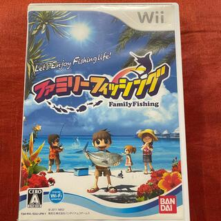Wii - ファミリーフィッシング Wii ソフト カセット