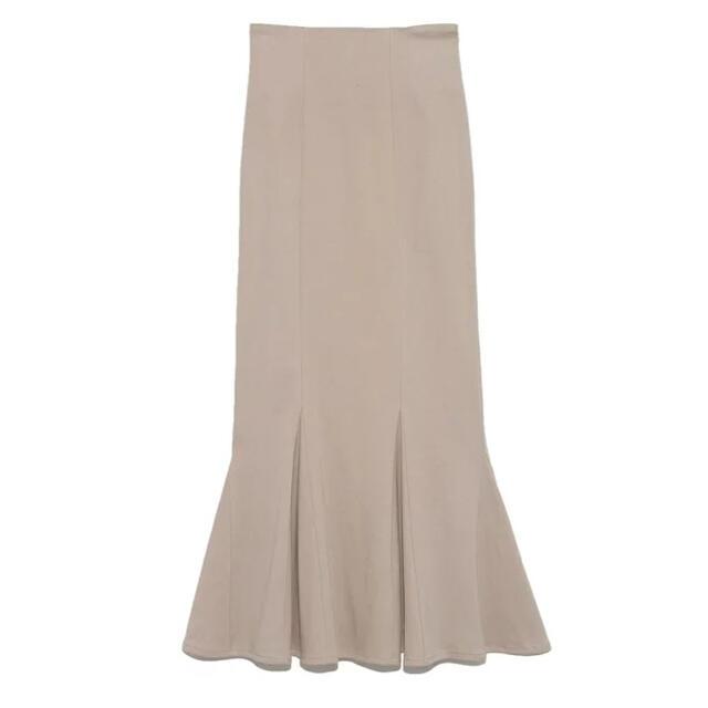 snidel(スナイデル)のSNIDEL ハイウエストヘムフレアスカート レディースのスカート(ロングスカート)の商品写真