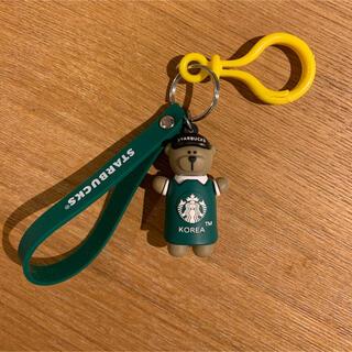 スターバックスコーヒー(Starbucks Coffee)のベアリスタ ストラップ(キャラクターグッズ)