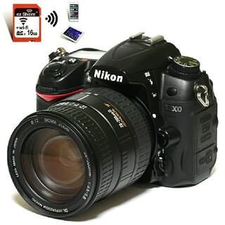 Nikon - 【Nikon】Wi-Fiで転送★大迫力ズームレンズ!!D7000レンズセット