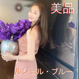 LE CIEL BLEU - 神崎恵さん着用【完売・美品】ルシェルブルーニットトップス【36】