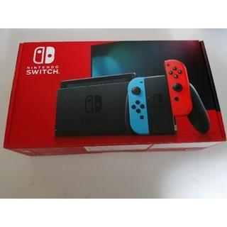 Nintendo Switch - 【中古美品/付属品完備】新型Switch本体【即購入OK】