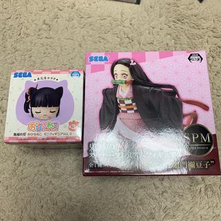 SEGA - 禰󠄀豆子 フィギュア 小さくなった おひるねこ 栗花落カナヲ 鬼滅の刃 セット