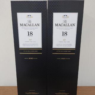 サントリー(サントリー)のザ・マッカラン18年シェリーオーク×2本セット(ウイスキー)