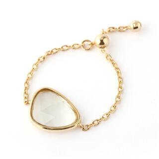 アネモネ(Ane Mone)のシエナロゼ チェーンリング(リング(指輪))
