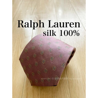 ラルフローレン(Ralph Lauren)の12 ラルフローレン ダイヤ 小紋柄 ネクタイ ピンク系 パープル系(ネクタイ)