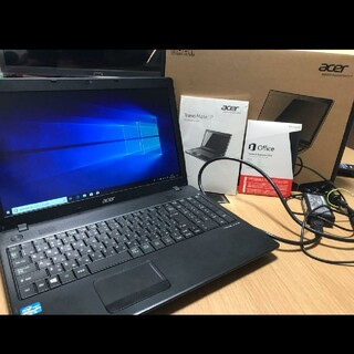 エイサー(Acer)のAcer ノートパソコン TMP453M マイクロソフトOffice搭載(ノートPC)