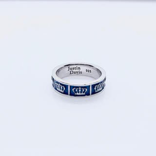 ジャスティンデイビス(Justin Davis)のJUSTIN DAVIS   オブセッションリング ブルー(リング(指輪))