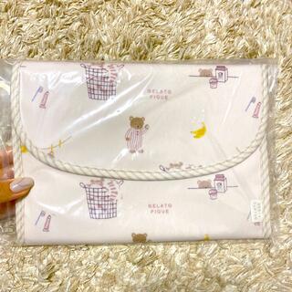 gelato pique - ジェラートピケ モーニングベア 母子手帳ケース