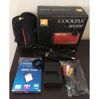 ニコン(Nikon)の【美品】Nikon COOLPIX AW100(その他)