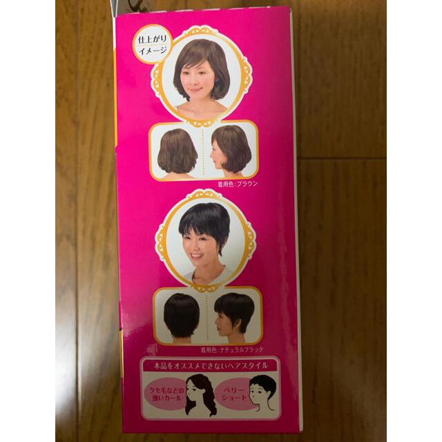 小林製薬(コバヤシセイヤク)の髪ふっくらウィッグ ナチュラルブラック(小林製薬) レディースのウィッグ/エクステ(その他)の商品写真
