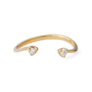 アネモネ(Ane Mone)のシエナロゼ ピンキーリング[アリウム](リング(指輪))