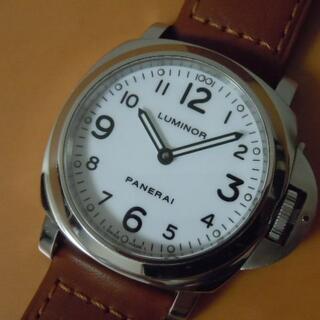 オフィチーネパネライ(OFFICINE PANERAI)のOH済み パネライ pam00114 ルミノール ベース ギャランティー付 (腕時計(アナログ))