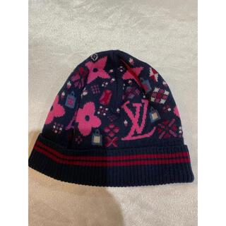 ルイヴィトン(LOUIS VUITTON)のルイヴィトン LOUIS VUITTON ボネ グランフロア ニット帽(ニット帽/ビーニー)
