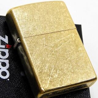 ジッポー(ZIPPO)の(送料込み)ZIPPO◇ゴールドバレル◇金タンク◇新品◇ジッポ(タバコグッズ)