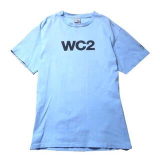 STUSSY - 【90s】USA製 Old Stussy WC2 ロゴ Tシャツ ブルー M