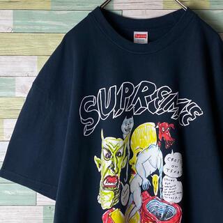 シュプリーム(Supreme)の【人気XL】Supreme × Daniel Johnston アート Tシャツ(Tシャツ/カットソー(半袖/袖なし))