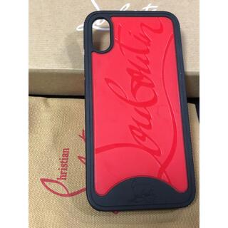 クリスチャンルブタン(Christian Louboutin)の未使用保管品 クリスチャンルブタン iPhone X ケース(iPhoneケース)