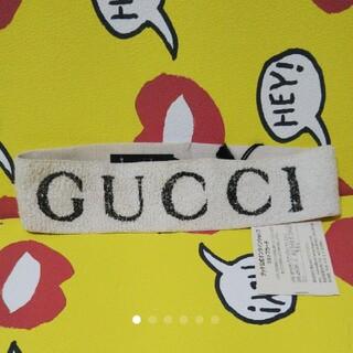 グッチ(Gucci)の未使用♥️GUCCI♥ロゴ♥️ヘアバンド♥ターバン(ヘアバンド)