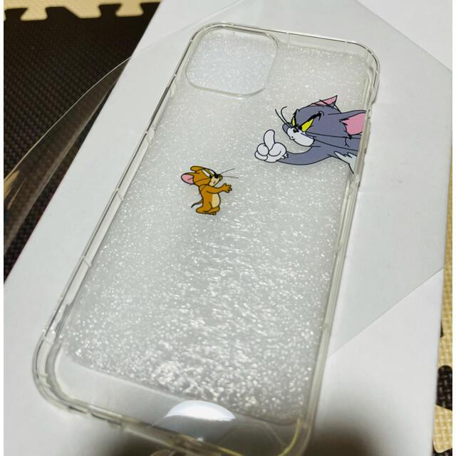 iPhoneケース iPhone12pro トムとジェリー クリアケース スマホ/家電/カメラのスマホアクセサリー(iPhoneケース)の商品写真