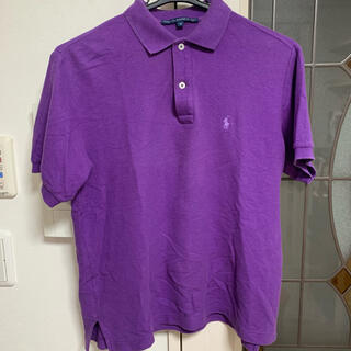 POLO RALPH LAUREN - RALPH LAUREN SPORT ポロシャツ 紫 パープル