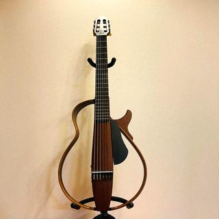 ヤマハ(ヤマハ)の美品 ヤマハ YAMAHA SLG200N サイレント ギター ケース付(アコースティックギター)