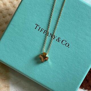 Tiffany & Co. - TIFFANY&Co ティファニー 750 ローマンクロス ネックレス