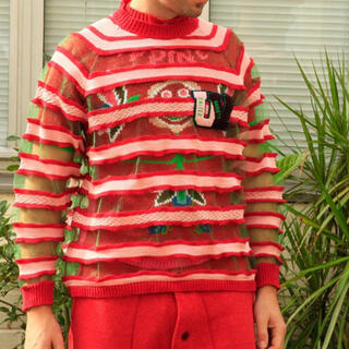ウォルターヴァンベイレンドンク(Walter Van Beirendonck)のsurvival of the fashionest ニット Tシャツ(Tシャツ/カットソー(半袖/袖なし))
