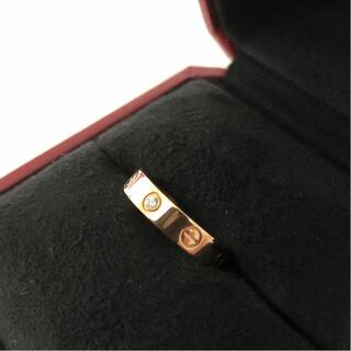 Cartier - 12号  カルティエリング ダイヤ ピンクゴールド✨美品✨