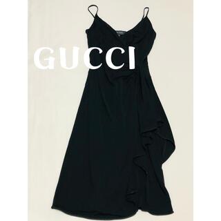 Gucci - グッチ GUCCI  ドレス デザインワンピース 美品 M