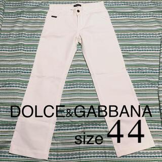 ドルチェアンドガッバーナ(DOLCE&GABBANA)のDOLCE&GABBANA ホワイトパンツ size44(その他)