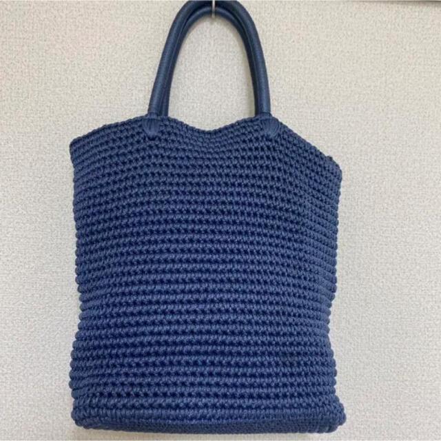 LUDLOW(ラドロー)のラドロー LUDLOW コードバッグ ハンドバック 鳥 ワッペン レディースのバッグ(かごバッグ/ストローバッグ)の商品写真