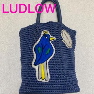 LUDLOW - ラドロー LUDLOW コードバッグ ハンドバック 鳥 ワッペン