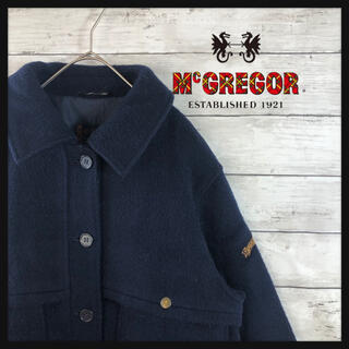 80.sマックレガー 袖ロゴ モードファッション 古着好きにオススメ