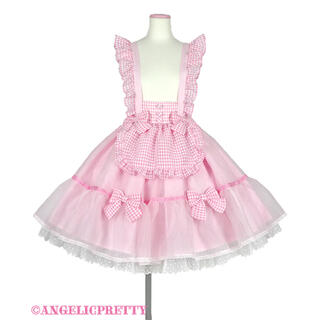 Angelic Pretty - Angelic Pretty♡ふんわりパフェスカート ピンク