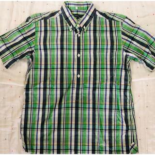 ビューティ&ユース 半袖シャツ  チェックシャツ