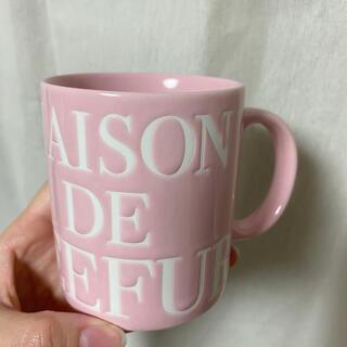 メゾンドフルール(Maison de FLEUR)のMaison de FLEURのマグカップ(グラス/カップ)