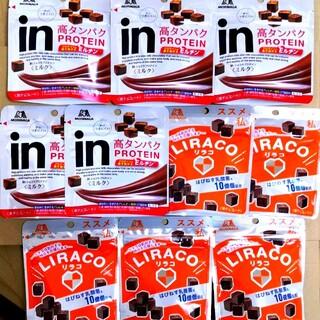 inショコラプロテイン⑤/リラコ 乳酸菌チョコ⑤ 【定価1670円商品】(菓子/デザート)