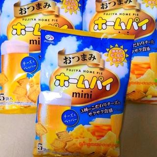 【3袋(×5入)】不二家 おつまみホームパイ      チーズ&ペッパー(菓子/デザート)