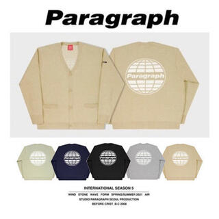 【新品】Paragraph signature cardigan