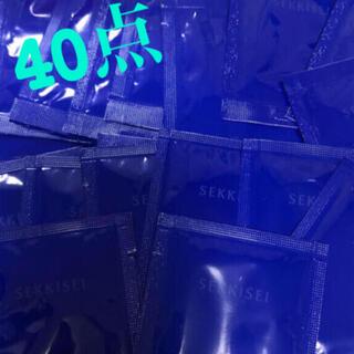 セッキセイ(雪肌精)のKOSE クリアウェルネス ナチュラルドリップ、スムージングミルク40点(サンプル/トライアルキット)