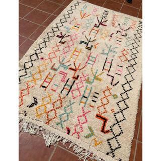 モロッコ ラグ rug アジラル カーペット 絨毯 パステルカラー(ラグ)