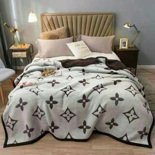 寝具 おしゃれ である珍しい ダブル厚柔らかい毛布 ブランケット