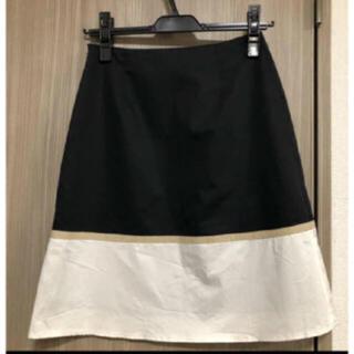 エフデ(ef-de)の週末限定価格 ☆ef-de☆  バイカラー スカート(ひざ丈スカート)