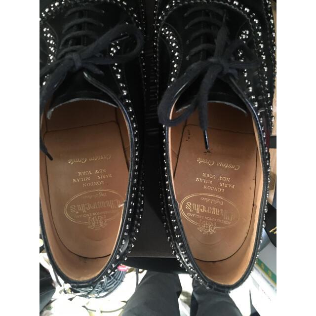 Church's(チャーチ)のチャーチ スタッズ ローファー 8.5 F church's burwood メンズの靴/シューズ(ドレス/ビジネス)の商品写真